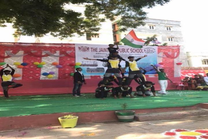 The Jaintpur Public School-Dancing Competition