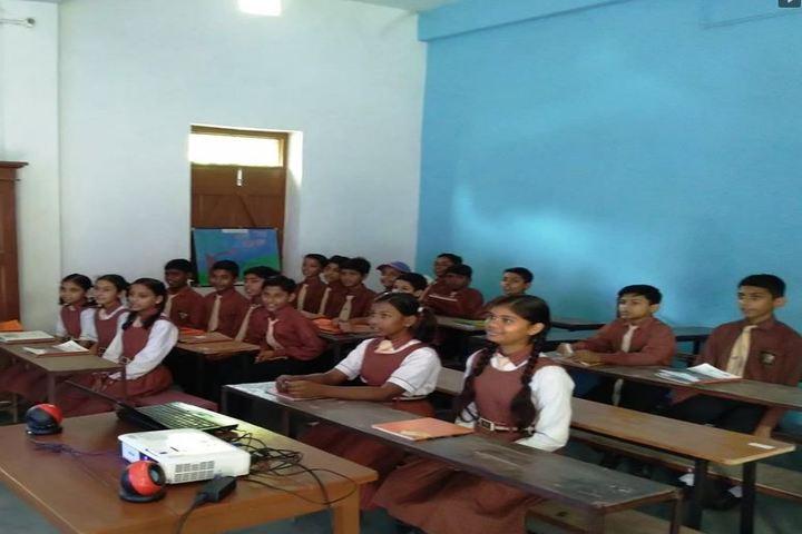 The Jaintpur Public School-Smart Classroom