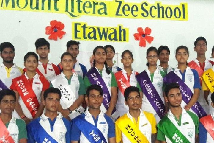 Mount Litera Zee School-Investiture Ceremony