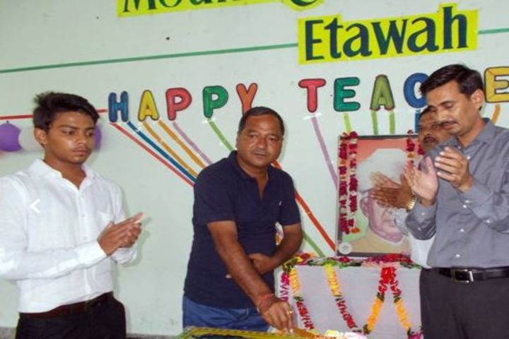 Mount Litera Zee School-Teachers Day