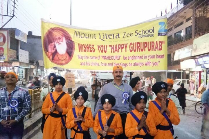 Mount Litera Zee School-Gurupurab Celebrations