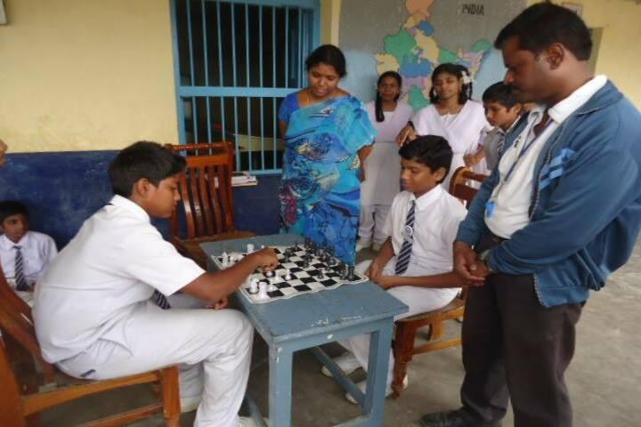 Durga Public School-Indoor Games