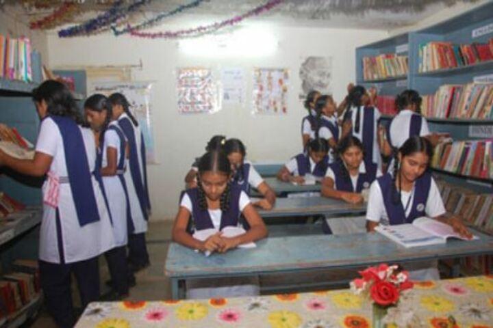 Durga Public School-Library