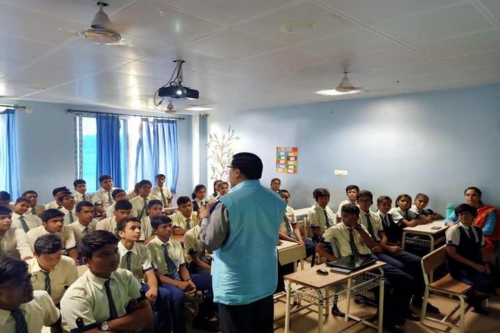 Mount Litera Zee School - Guest lecture