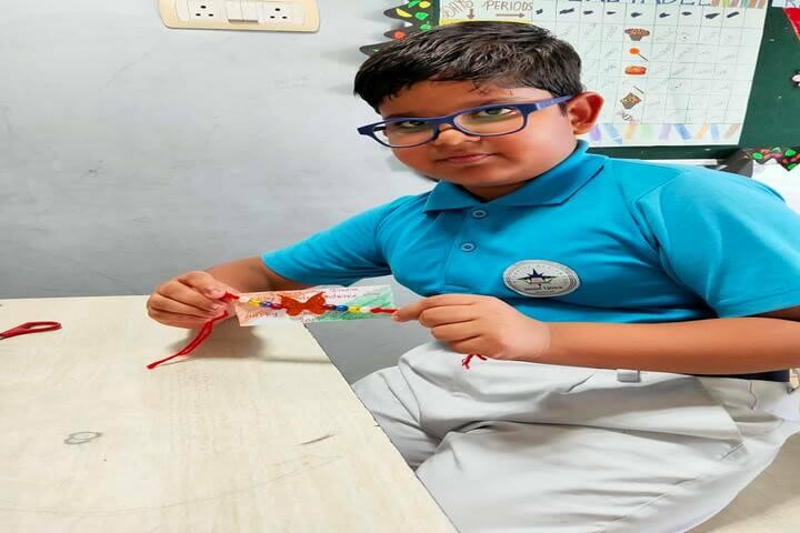 Mount Litera Zee School - Rakhi making