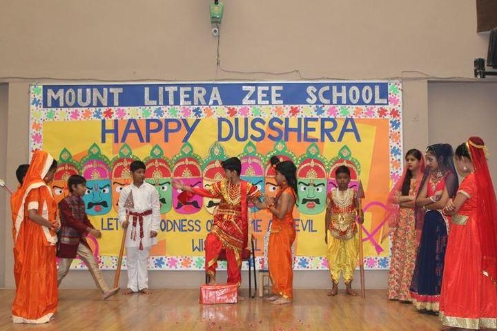 Mount Litera Zee School-Dusshera Celebrations