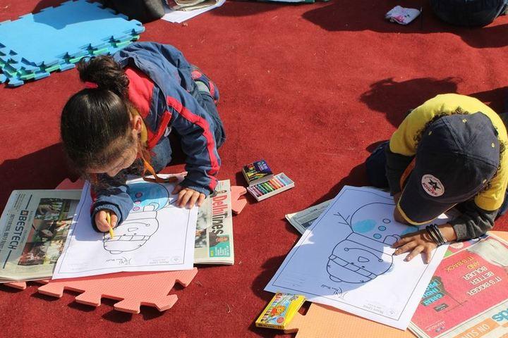 Mount Litera Zee School-Painting Competition