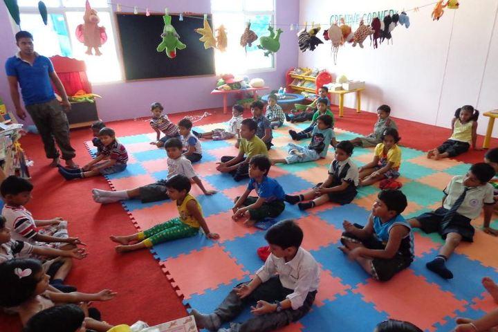 Mount Litera Zee School-Yoga Activity