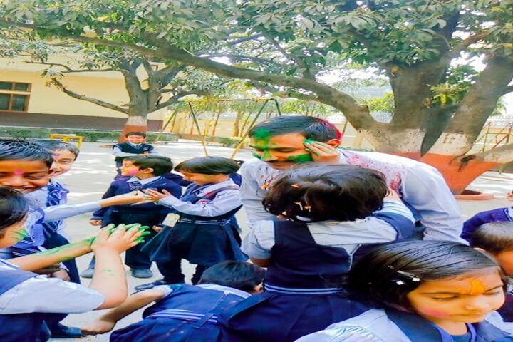 N S Children Academy-Holi Celebrations
