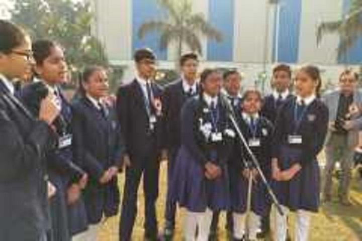 N S Public School-Group Singing