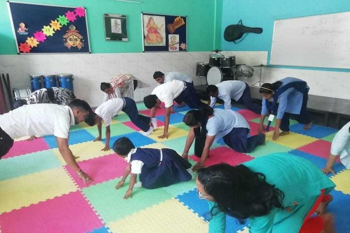 N S Public School-Yoga