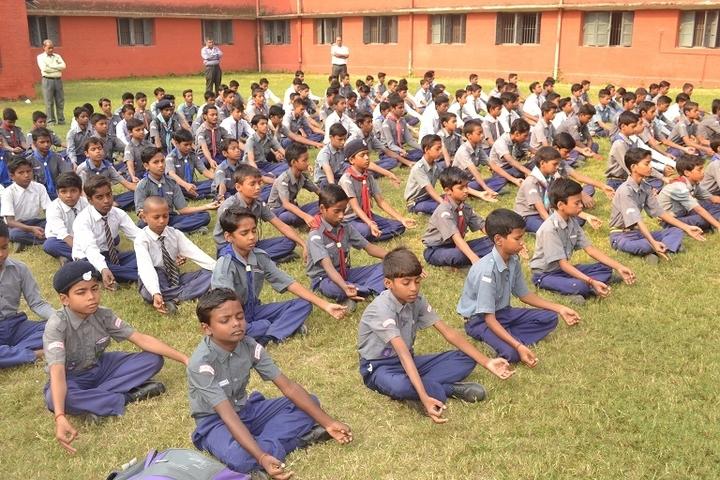 NE Railway Boys Inter College-Yoga Activity