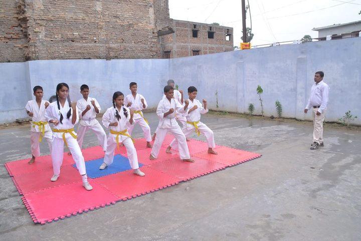 Transcendence International School-Karate Activity