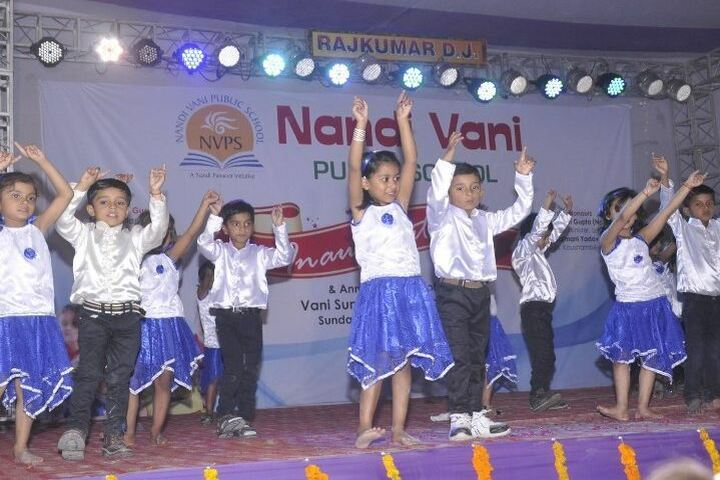 Nandi Vani Public School-Dance Activity