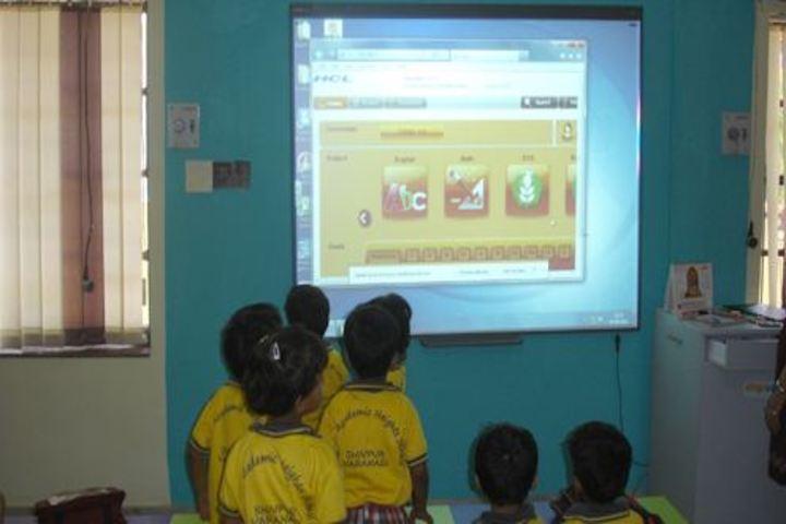 Nanhku Ram Public School-Smart Classroom