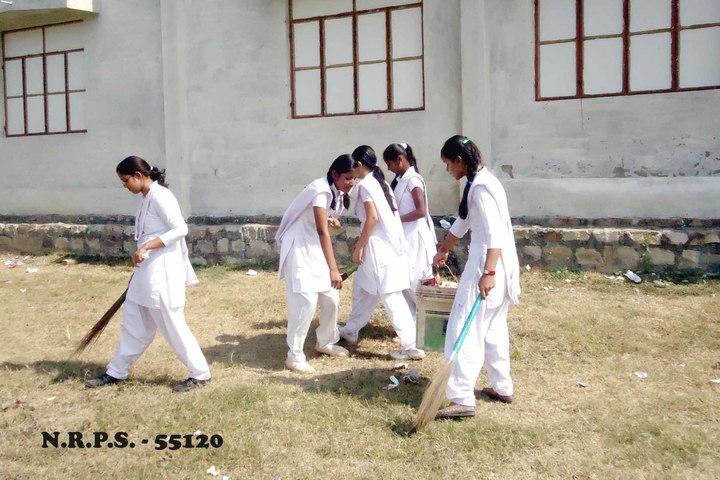 Nanhku Ram Public School-Swach Barath