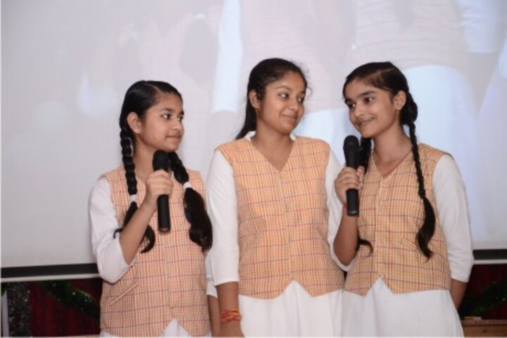 Narayan College Of Science And Arts-Singing Activity