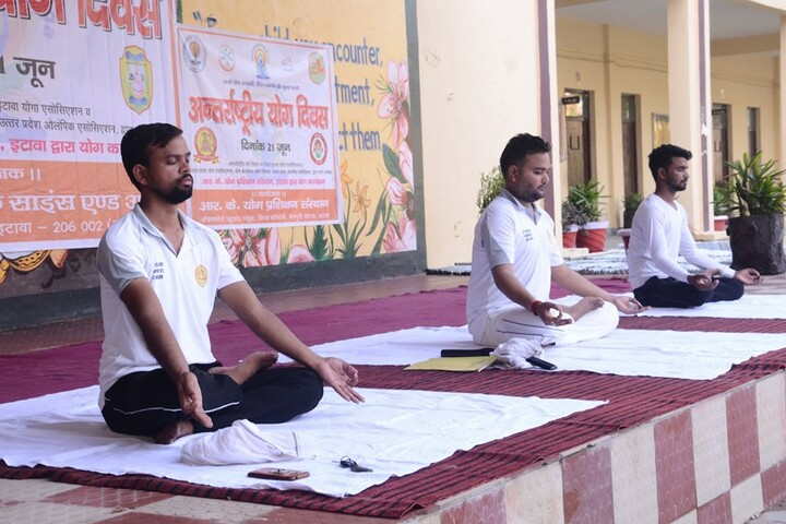 Narayan College Of Science And Arts-Yoga Activity