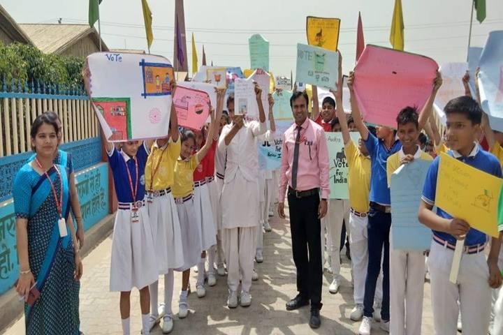 Narayan Savitri Public School-Rally