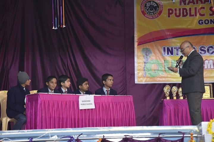 Narayana Public School-Quiz