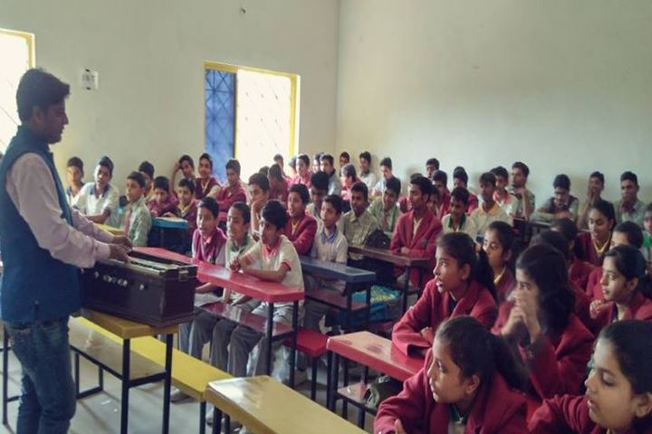Trident Public School-Classroom