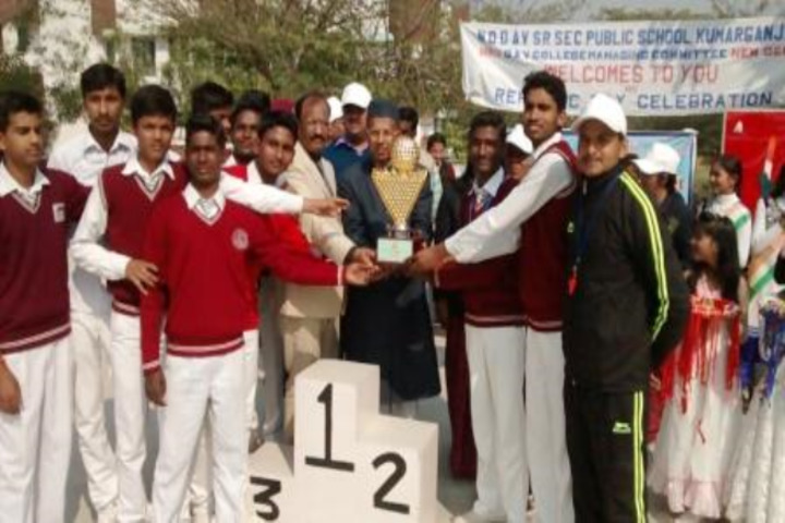 Narendra Deva Dav Public School-Achievement