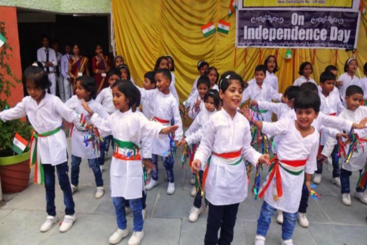 Narendra Deva Dav Public School-Dance Activity