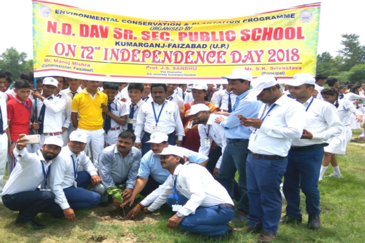 Narendra Deva Dav Public School-Plantation