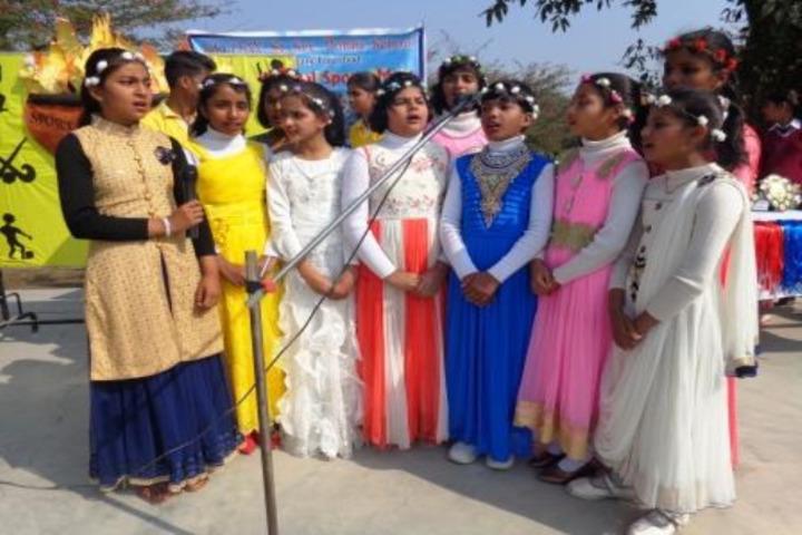 Narendra Deva Dav Public School-Singing Activity