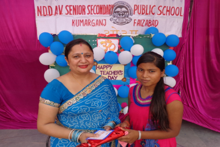 Narendra Deva Dav Public School-Teachers Day