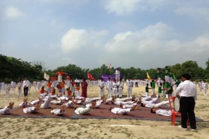 Narendra Deva Dav Public School-Yoga Activity