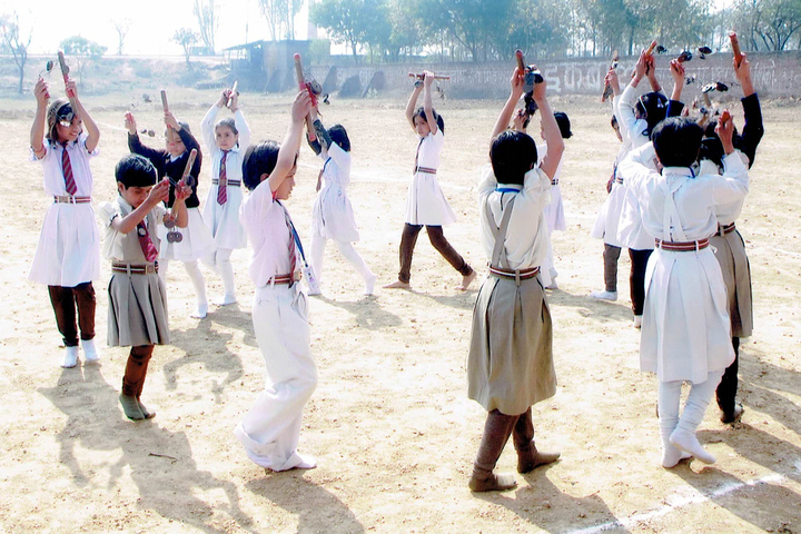 Nav Jagriti Public School - Ground