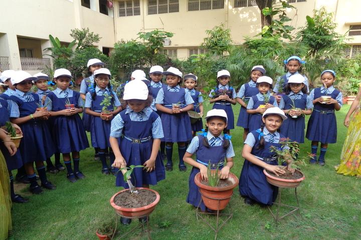 Navayuga Radiance Bilingual Senior Secondary School-Tree Plantation