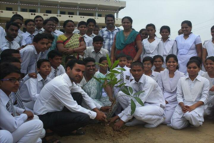 Navayuga Radiance School-Tree Plantation