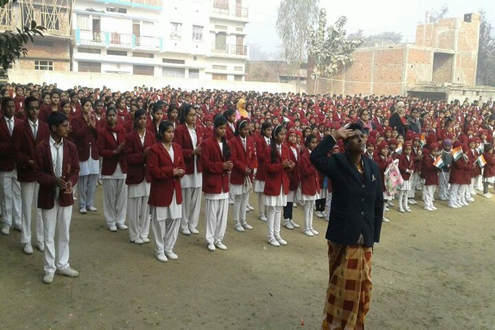 Navjeevan English School-Morning Assembly
