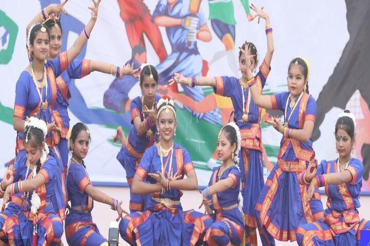 Nehru International Public School-Bharat Natyam