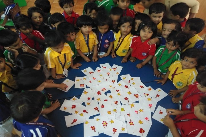 Nehru International Public School-Classroom Activity