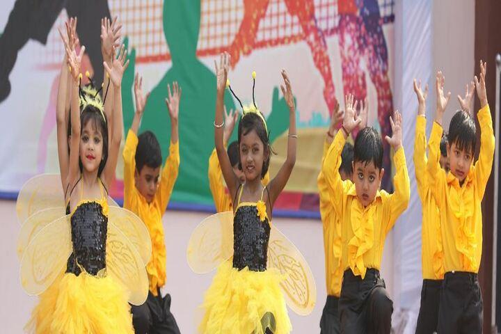 Nehru International Public School-Group Dance Performance