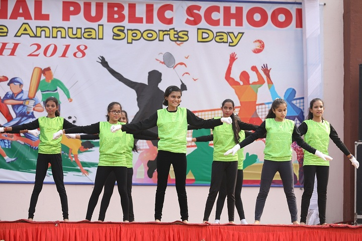 Nehru International Public School-Sports Day