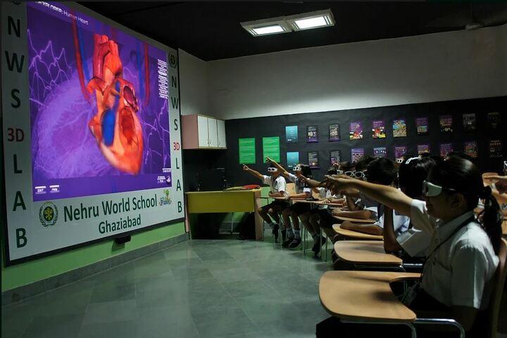 Nehru World School-3D lab