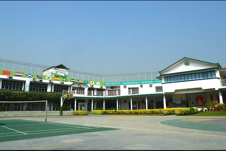Nehru World School-Assembly Ground