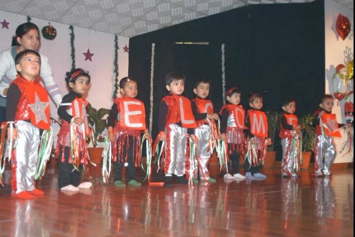 Nehru World School-Christmas Celebrations