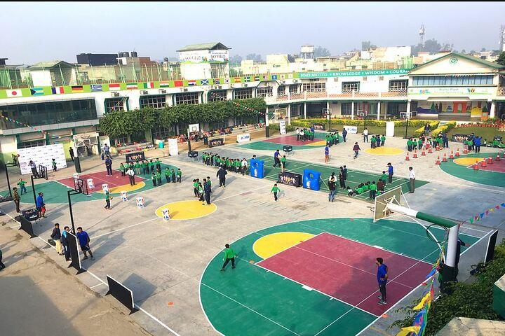 Nehru World School-School Building