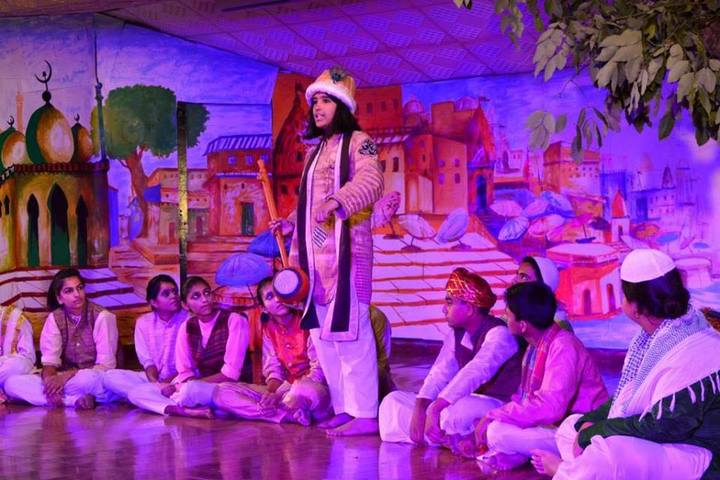 Nehru World School-Drama Activity