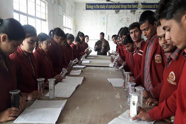 Uma Shankar Champa Devi Dav Public School-Science Lab