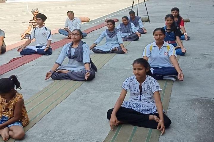 New Age Public School - Meditation