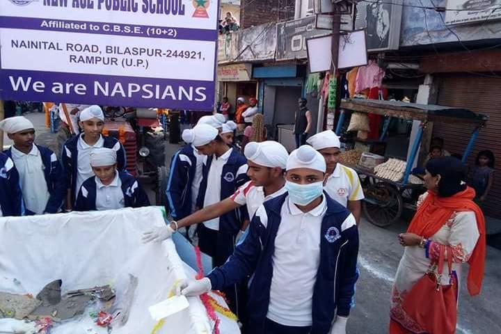 New Age Public School - Swachh Bharat
