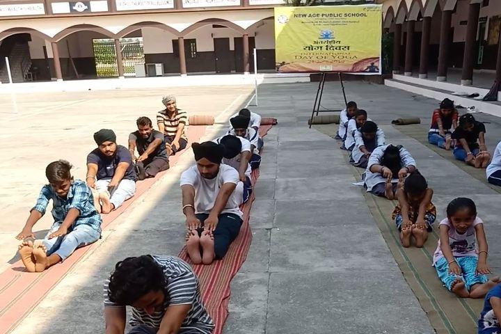 New Age Public School - Yoga