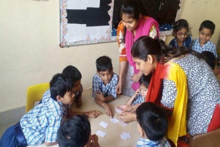 Usha Martin World School-Classroom Activity