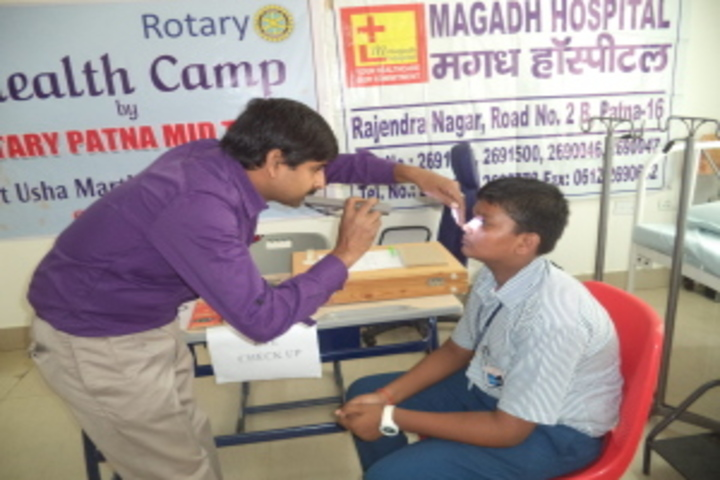 Usha Martin World School-Health And Medical Checkup